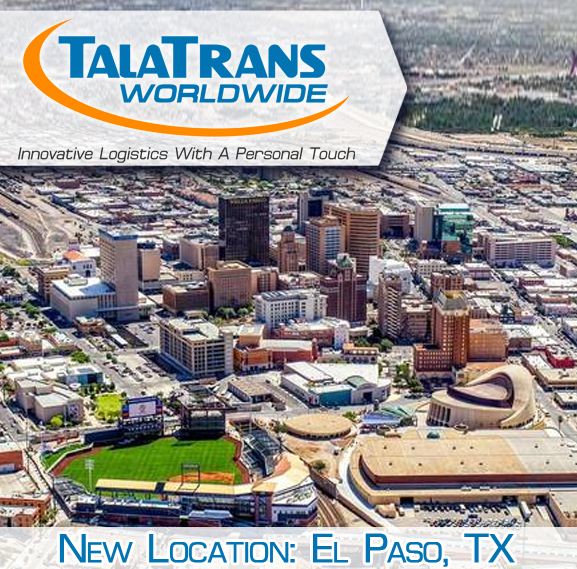 Talatrans worldwide announces new office in el paso texas for The house company el paso